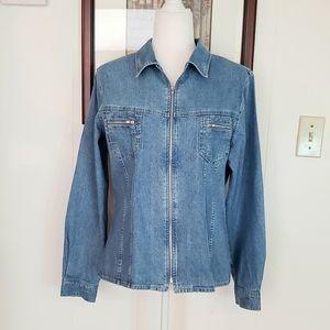Denim Old School Jacket